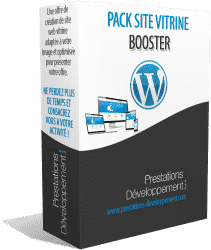 Création site internet vitrine wordpress - Pack Booster
