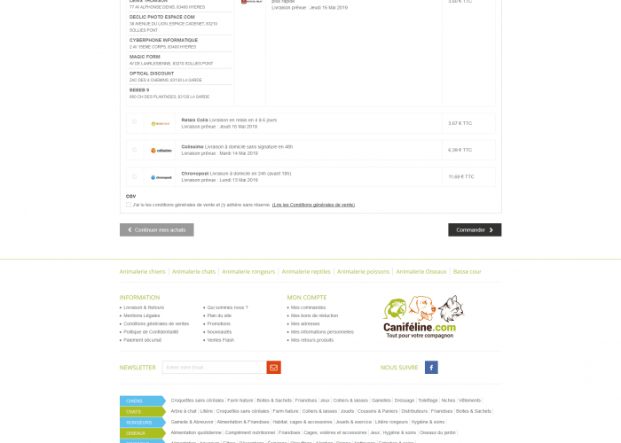 refonte site ecommerce prestashop