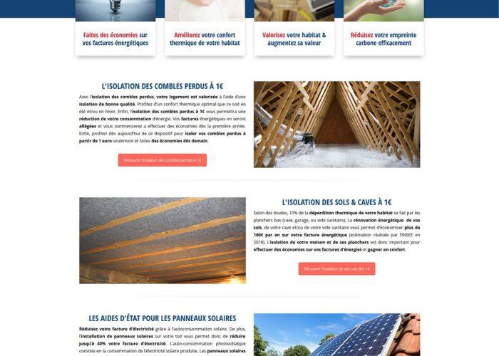 référencement wordpress - pacte énergie rénovation