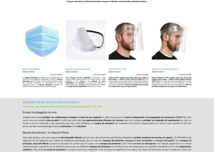 création site ecommerce prestashop 1.7 - CC PARTNERS