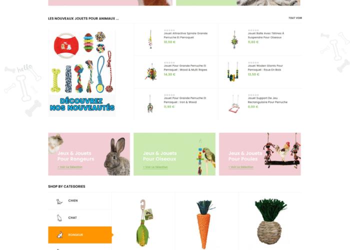 création d'un site ecommerce prestashop 1.7