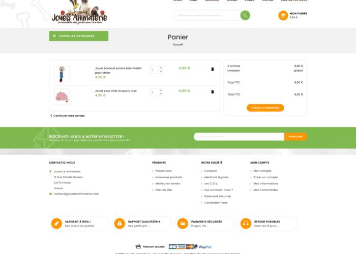 création ecommerce prestashop 1.7